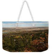 On The Path To The Summit Weekender Tote Bag