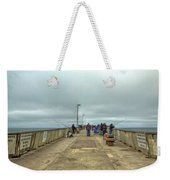 On The Pier At Pacifica Weekender Tote Bag