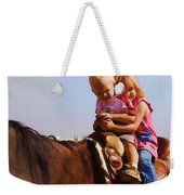 On The Ranch Weekender Tote Bag