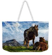 On The Range Weekender Tote Bag