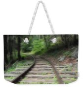 Victorian Locomotive Tracks Weekender Tote Bag