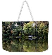 On The River Four Weekender Tote Bag