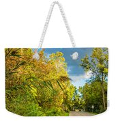 On The Road To Autumn Weekender Tote Bag