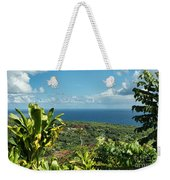 on the road to Hana Weekender Tote Bag