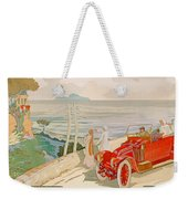 On The Road To Naples Weekender Tote Bag
