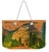 On The Road To Zion Weekender Tote Bag