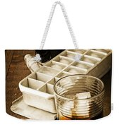 On The Rocks Weekender Tote Bag by Edward Fielding