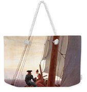 On The Sailing Boat Weekender Tote Bag