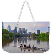 On The Schuylkill Weekender Tote Bag