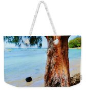 On The Shore 1. Mauritius Weekender Tote Bag