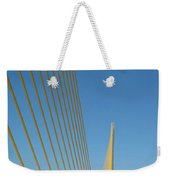 On The Sky Way Brigde  Weekender Tote Bag
