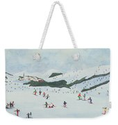 On The Slopes Weekender Tote Bag