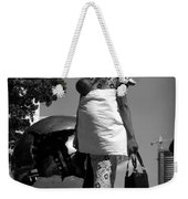 On The Steps Of The U N  -  Mother And Child Weekender Tote Bag
