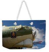 On The Tarmac B-17g Weekender Tote Bag