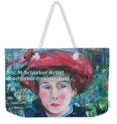 On The Terrace Renoir Rendition Weekender Tote Bag