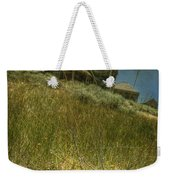 On The Top Of Grassy Hill Weekender Tote Bag