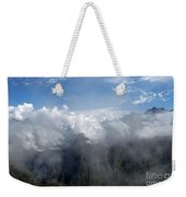 On The Top Of The World... Weekender Tote Bag