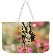 On The Top - Swallowtail Butterfly Weekender Tote Bag