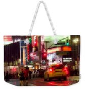 On The Town - Times Square Weekender Tote Bag