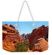 On The Trail At Arches Np Weekender Tote Bag