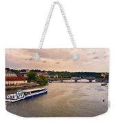 On The Vltava River - Prague Weekender Tote Bag