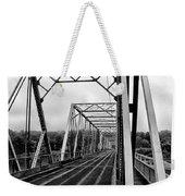 On The Washingtons Crossing Bridge Weekender Tote Bag