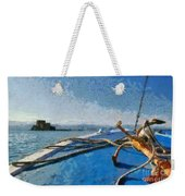 On The Way To Bourtzi Fortress Weekender Tote Bag