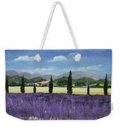 On The Way To Roussillon Weekender Tote Bag by Anastasiya Malakhova