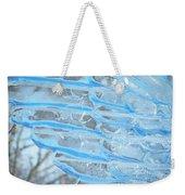 On The Wings Of A Winter Wind Weekender Tote Bag