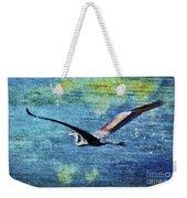On The Wings Of Blue Weekender Tote Bag