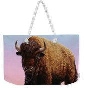 On Thin Ice Weekender Tote Bag by James W Johnson