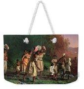 On To Liberty, 1867 Weekender Tote Bag