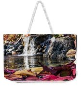 On Waters Edge Weekender Tote Bag