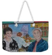 Joy And Frank Once Upon A Time In Tuscany Weekender Tote Bag