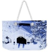 Once Upon A Winter's Eve Weekender Tote Bag