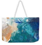 On A Summer Breeze- Contemporary Abstract Art Weekender Tote Bag
