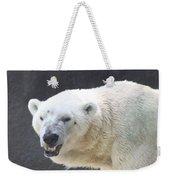 One Angry Polar Bear Weekender Tote Bag