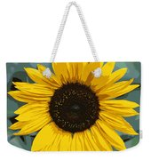 One Bright Sunflower - Digital Art Weekender Tote Bag