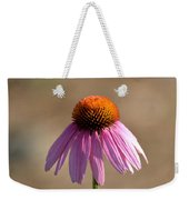 One Coneflower Weekender Tote Bag