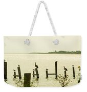 Seadrift Texas Only One Empty Seat Weekender Tote Bag