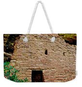 One Entry To Spruce Tree House On Chapin Mesa In Mesa Verde National Park-colorado  Weekender Tote Bag