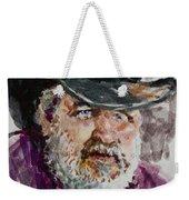 One Eyed Cowboy  Weekender Tote Bag