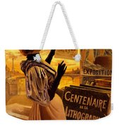 One Hundred Years Of Lithography Weekender Tote Bag