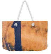 One In Zero Weekender Tote Bag by Carol Leigh