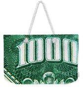 One K  Weekender Tote Bag