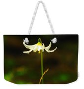 One Lily Almost Alone Weekender Tote Bag