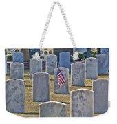 One Lonely Flag Weekender Tote Bag