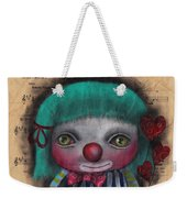 One Love Clown Weekender Tote Bag