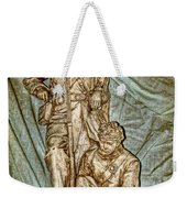 One More Shot - Rogers Group Statue Weekender Tote Bag