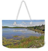 One Of Many Lakes In Newfoundland Weekender Tote Bag